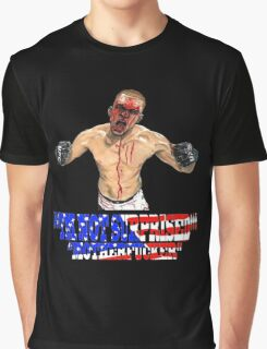 """I'M NOT SURPRISED Nate Diaz"" Graphic T-Shirt"