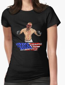 """""""I'M NOT SURPRISED Nate Diaz"""" Womens Fitted T-Shirt"""