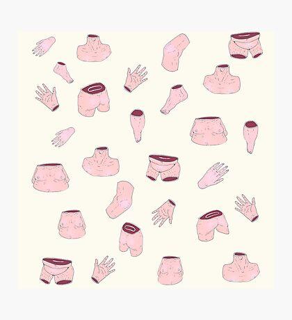body linguage Photographic Print