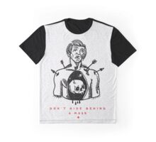 Behind A Mask Graphic T-Shirt