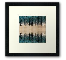 Once Upon A Forest Reflection Framed Print