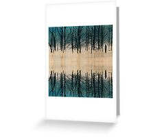 Once Upon A Forest Reflection Greeting Card