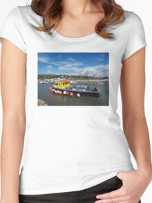 Neptune At The Harbour Women's Fitted Scoop T-Shirt
