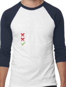 Gary Johnson for President 2016   Vote 3rd Party Men's Baseball ¾ T-Shirt