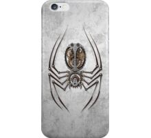 Rough Steel Steampunk Spider iPhone Case/Skin