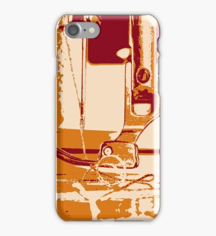 Sewing Details iPhone Case/Skin