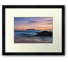 The Blue Mountain Framed Print