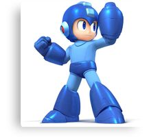 Mega Man Smash Brothers Wii U! Canvas Print