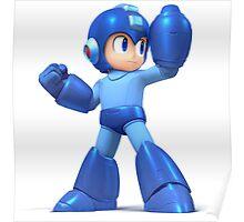 Mega Man Smash Brothers Wii U! Poster