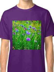 wild flowers,flower,digital photo,Snowy Primrose,Meadow pink, Classic T-Shirt