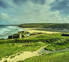Perranporth Headland  by Rob Hawkins