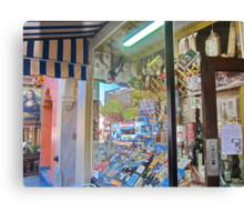 North Beach Deli Canvas Print