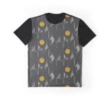 City scape Graphic T-Shirt