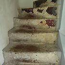 Well Worn Stairs by Fara