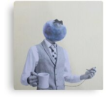 one timeless blueberry Metal Print