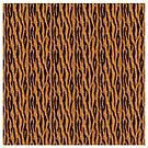 Tiger Stripes Duvet Cover by Linda Allan