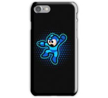 Mega Man Jump! Ultra HQ Modern Print iPhone Case/Skin