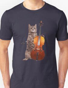 Cello Cat - Meowsicians Unisex T-Shirt
