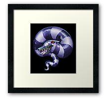 Sleeping Sandworm Framed Print