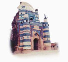 Dome of bibi Jiwandi (Uch Sharief) by HAMID IQBAL KHAN