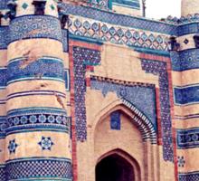 Dome of bibi Jiwandi (Uch Sharief) Sticker