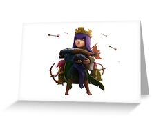 CLASH OF CLANS COC ARCHER Greeting Card