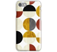 Half circles iPhone Case/Skin