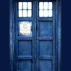 The TARDIS by Surpryse
