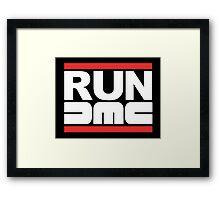 RUN DeLorean Motor Company Framed Print