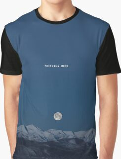 Freezing Moon Black Metal Tee Graphic T-Shirt