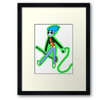 Cobra in the House Framed Print