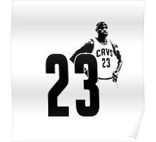 NBA Lebron Poster