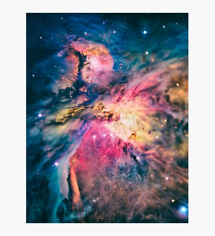 The awesome beauty of the Orion Nebula  Photographic Print