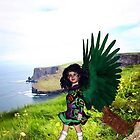 Little Irish Dancer Angel - Beginning the Dance by Kristie Theobald