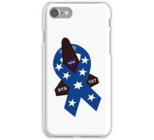 STS-107 Memorial Symbol iPhone Case/Skin