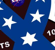 STS-107 Memorial Symbol Sticker