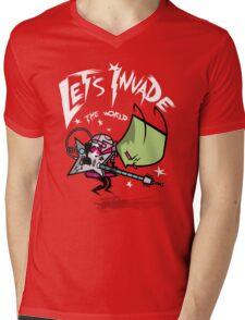 Zim Pilgrim Mens V-Neck T-Shirt