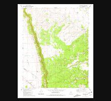 USGS TOPO Map Arizona AZ Red Mesa 313059 1981 24000 Unisex T-Shirt