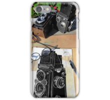 drawing camera iPhone Case/Skin