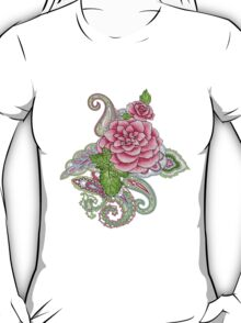 floral tattoo T-Shirt