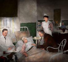 Doctor - Hospital - Bedside manner 1915 by Mike  Savad