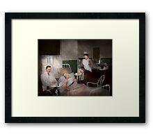 Doctor - Hospital - Bedside manner 1915 Framed Print