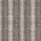 Snake Skin Duvet Cover by Linda Allan