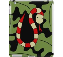 Red snake iPad Case/Skin