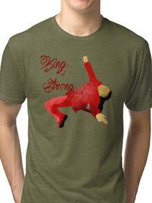King Of Strong Style | Shinsuke Nakamura Tri-blend T-Shirt