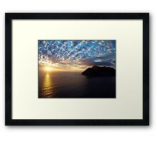 Hout Bay Sunset Framed Print