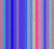 Stripes and Dots in Floral Colors by Betty Mackey