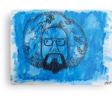 he's blue Metal Print