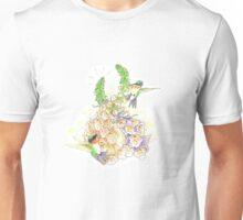 Hummingbirds and Foxgloves Unisex T-Shirt