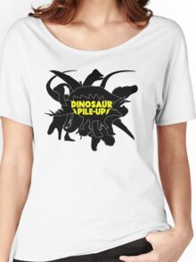 DINOSAUR PILE-UP Women's Relaxed Fit T-Shirt